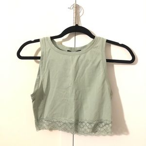 Laced Crop Top! Women's Size Small